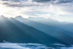 The natural oxygen bar dawa genza scenic spot stock image