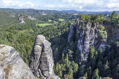 Natural Park Bastei. Saxony. Germany. Royalty Free Stock Images