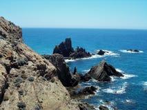 -Natural Park Cabo de Gata-Almeria-Andalusia. Natural Park Cabo de Gata Almeria-Andalusia- Spain Royalty Free Stock Image
