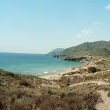 Natural Park of Calblanque. Murcia. Spain. stock photography