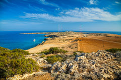 Natural park Cape Greco Stock Photography