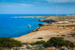 In the natural park Cape Greco Royalty Free Stock Images