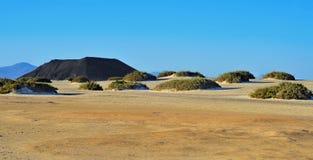 Natural Park of Corralejo in Fuerteventura, Spain Stock Photo