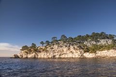 Natural park of the creeks near Cassis Stock Photo