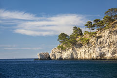Natural park of the creeks near Cassis Royalty Free Stock Photography