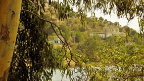 Natural park of El Chorro--panoramic view-Andalusia Royalty Free Stock Images