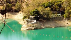 Natural park of El Chorro--panoramic view-Andalusia Royalty Free Stock Photo