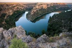 Natural park of Hoces del Duraton, Segovia Royalty Free Stock Photo