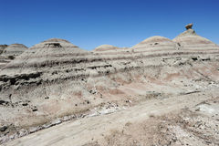 Natural Park of Ischigualasto or Valle de la Luna. Unesco, World Heritage Site Stock Photo