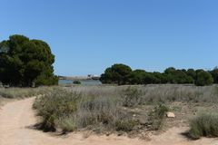 Natural Park of La Mata Stock Image
