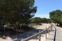 Natural Park of La Mata Royalty Free Stock Photography