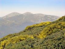 Natural Park Peñalara, Madrid, Spain. A few kilometers from Madrid, stands the Sierra de Guadarrama. The highest peak is the peak Peñalara (2428 meters Royalty Free Stock Photos