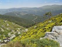Natural Park Peñalara, Madrid, Spain Royalty Free Stock Photos