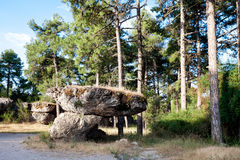 Natural Park in province of Cuenca, Spain Royalty Free Stock Photo