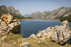 Natural Park of Somiedo. Asturias, Spain. Natural Park of Somiedo in the mountains of Asturias, Spain royalty free stock image