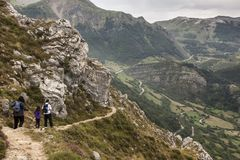 Natural Park of Somiedo. Asturias, Spain. Natural Park of Somiedo in the mountains of Asturias, Spain stock photos