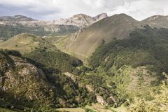 Natural Park of Somiedo. Asturias, Spain. Natural Park of Somiedo in the mountains of Asturias stock photos