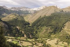 Natural Park of Somiedo. Asturias, Spain. Natural Park of Somiedo in the mountains of Asturias royalty free stock photos