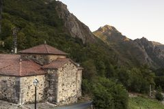 Natural Park of Somiedo. Asturias, Spain. Natural Park of Somiedo in the mountains of Asturias, Spain stock photo