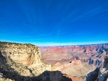 Views to the gran canyon royalty free stock photography