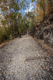 Natural path at the Hellfire Pass Trail, Royalty Free Stock Image