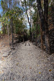Natural path at the Hellfire Pass Trail, Royalty Free Stock Images