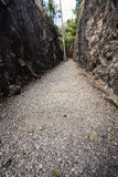 Natural path at the Hellfire Pass Trail, Stock Photo
