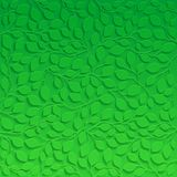 Natural pattern with green leaves Royalty Free Stock Images