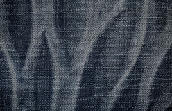 Natural pattern jeans texture for the background Stock Image