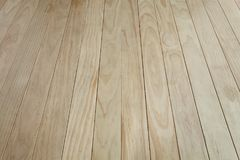 Natural pattern wood table floor for design or montage your prod Royalty Free Stock Images