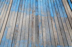 Natural pattern wood table floor for design or montage your prod Stock Image
