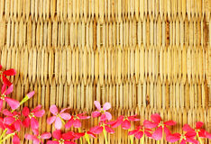 Natural patterns. Woven rattan with natural patterns Royalty Free Stock Photo