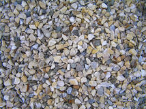 Natural pebbles background full frame Royalty Free Stock Image