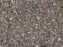 Pebbles background Stock Image