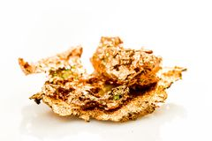 Natural, pepita de cobre Fotos de archivo