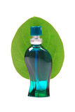 Natural perfume bottle Stock Photo