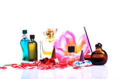 Natural perfumes Stock Image