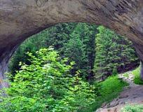 Natural phenomenon of an arch in the mountain. Marvelous Bridges: natural phenomenon of an arch in the mountain Stock Photo