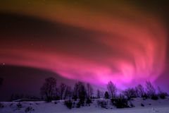 Northern lights over Lapland Royalty Free Stock Photos