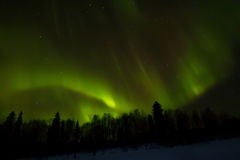 Northern lights over Lapland Royalty Free Stock Photography