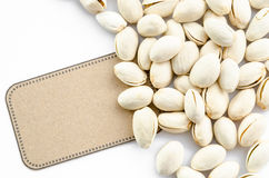 Natural Pistachio nuts. Stock Image