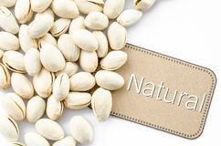 Natural Pistachio nuts. Royalty Free Stock Photography