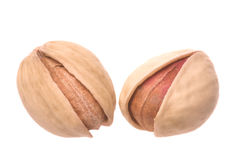 Natural Pistachio Nuts Isolated Royalty Free Stock Image