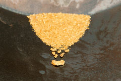 Natural Placer Gold Royalty Free Stock Images