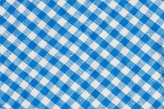 Natural Plaid Fabric Abstract Background Texture,. Natural Linen Plaid Fabric Abstract Background Texture, Blue And White Royalty Free Stock Photo