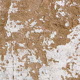 Natural plaster wall surface for texture or backgrounds. Stock Photos
