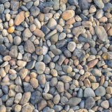 Natural Polished Pebble or Gravels. Background Royalty Free Stock Images