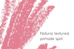 Natural pomade banner background with raw grunge texture of cosmetics. Royalty Free Stock Photography