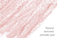 Natural pomade banner background with raw grunge texture of cosmetics. Natural pomade art design elements with curves, lines, abstract textured shapes for Stock Images