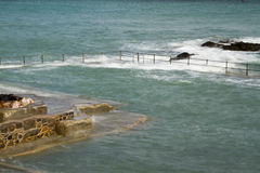 Natural Pool in Guernsey Royalty Free Stock Images